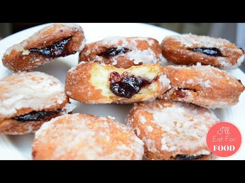 Homemade Blueberry Donuts │Episode 058 │ I'll Eat For Food