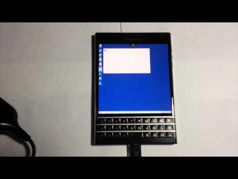 Blackberry Passport Running Windows 7