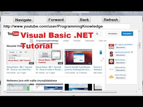 Download Visual Basic  NET Tutorial 41 - How to use the