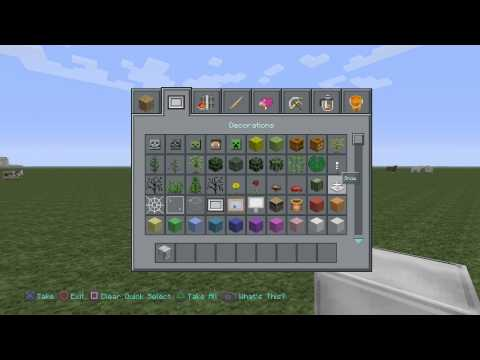Minecraft PS4: How to make a iron golem