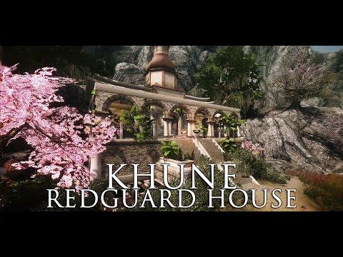 TES V - Skyrim Mods: Khune - Redguard House