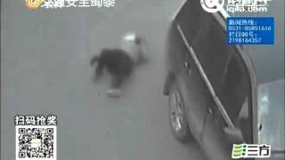 Car crushes woman to Death