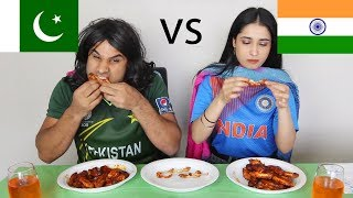 Pakistan vs India HOT WING CHALLENGE! | Nasreen | Peri | Rahim Pardesi