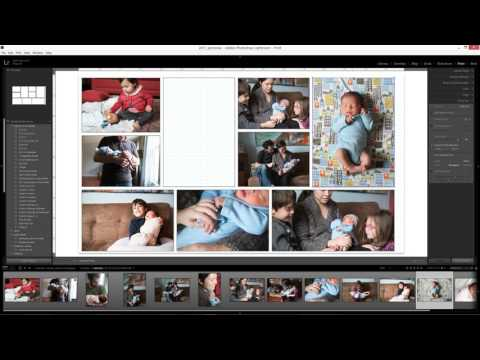 Using Lightroom Print Module to Create