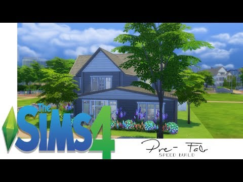 The Sims 4 - Speed Build ~ Pre Made Rooms Challenge