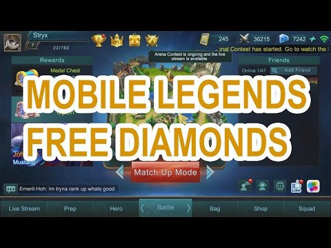 Mobile Legends Hack Diamonds - How To Hack Mobile Legends Proof