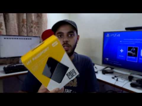 WD My passport 2 TB External hard drive setup with PS4