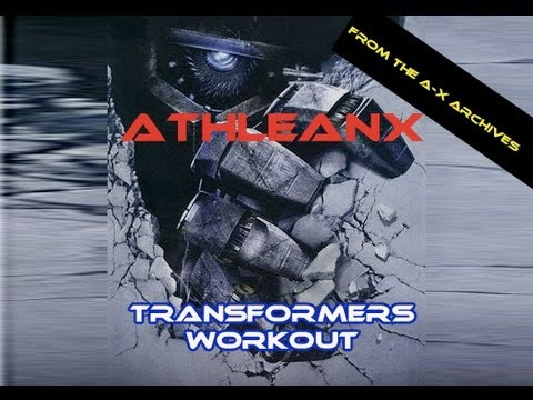 THE TRANSFORMERS WORKOUT!!  | Total Body 6 Circuit Workout