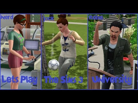Let's Play The Sims 3 University Part 10: Forbidden Fruit Seed