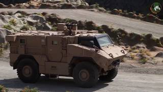 Download IDEX 2019 Paramount Mbombe 4x4 and new combat vehicles of UAE armed forces Video