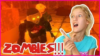 KILLING ALL THE ZOMBIES!!!