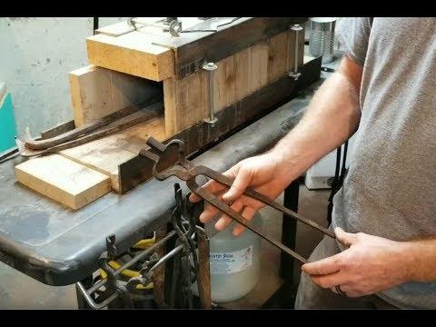 DIY - Cheap Tongs For Blacksmithing