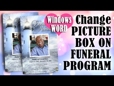 How To Change the Front Cover Photo Box Shape in Microsoft Word 2007, 2010 or up
