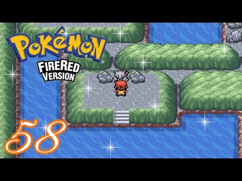 Pokemon FireRed Complete Walkthrough - Part 58: Mewtwo (Cerulean Cave) (HD 1080p)