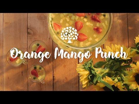 Florida Orange Mango Punch