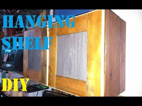 Hanging Shelf recycling Pallett DIY