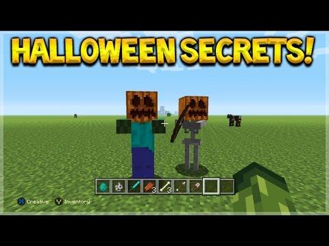 Minecraft Console Edition - Cool Halloween Minecraft Secret Pumpkin Mobs (Console Edition)