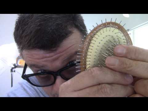 Whalek Wood Glide Thru Detangler  Hair Brush! Review.