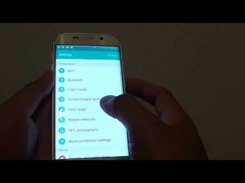 Samsung Galaxy S6 Edge: How to Change Default Messaging App