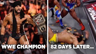 7 Fastest Downfalls From WWE Champions