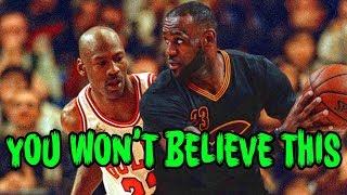 The ULTIMATE Michael Jordan Lebron James Conspiracy!