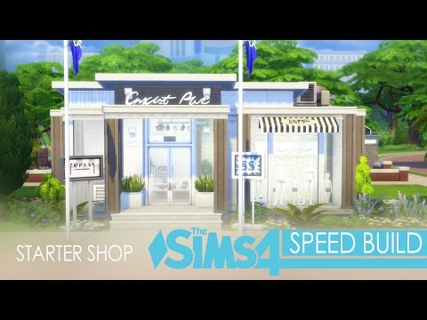 The Sims 4 Get To Work - Speed Build - Starter Shop