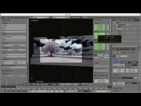 2.5d parallax animation tutorial using a single photo and blender