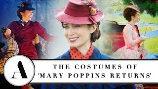 Download Emily Blunt On The Costumes of 'Mary Poppins Returns' - Variety Artisans Video