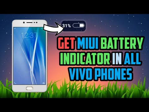 Get MIUI Battery Indicator in Vivo Phones/Devices | All Vivo Phones/Devices
