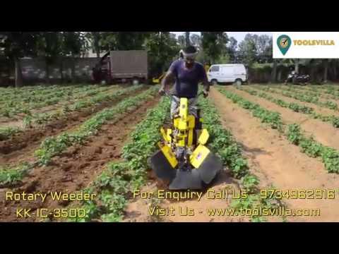 Diesel Inter cultivator/Rotary Weeder KK IC 350D