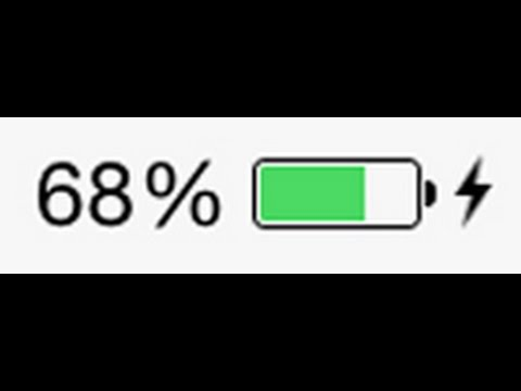 iPhone 6 | 6 plus Battery Percentage On/Off