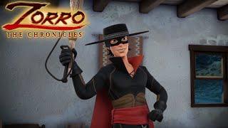 Zorro la leggenda episodio 09 doppio zorro cartoni di