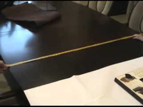Custom table pads to protect your dining / conference room tables