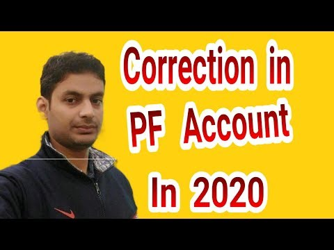 (100% Working) How to do correction/Updte Name, Date of Birth, Gender in UAN/PF/EPFO  by Aadhar card