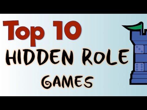 Top 10 Hidden Role Games