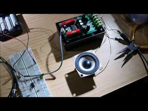simple audio pre-amplifier circuit diagram