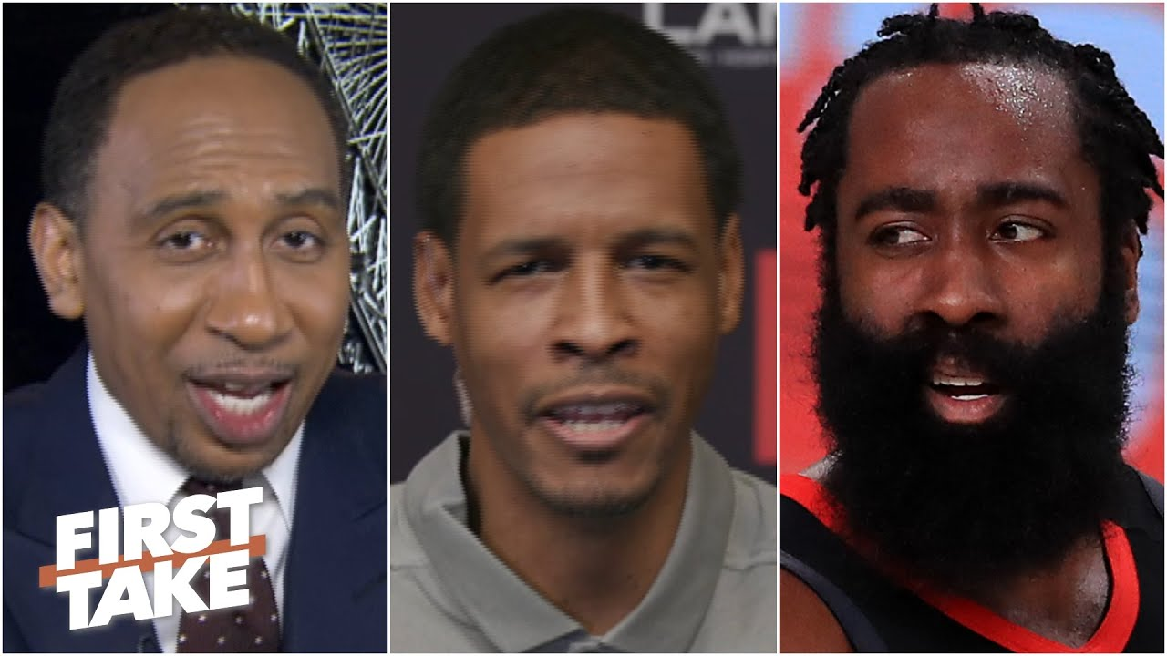 Stephen A. asks Stephen Silas about James Harden trade rumors   First Take