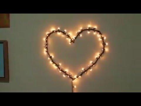 how to make heart led light