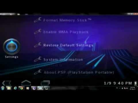 PSP ctf theme for 6.60 pro-b10 ( honey comb ) theme name..