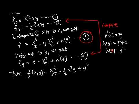 Calc III: Fundamental Theorem of line integral example 3/4