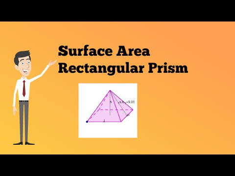 Surface Area Rectangular Pyramid-Middle School Math