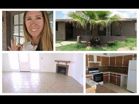Vlog & New House Tour | Desert Home Making | Day 1