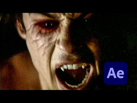 Vampire Diaries Face Effect in After Effects
