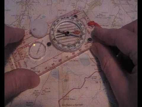map and compass - explained in detail