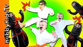 HobbyKarate Super Action Show with HobbyKids!
