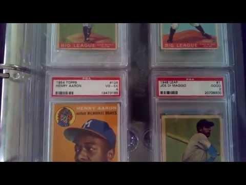 PSA Graded Baseball Card Binder