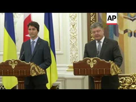 Canada and Ukraine sign free trade agreement