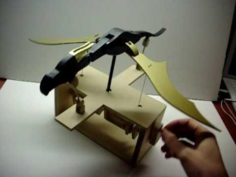 Wooden Dragon Automata