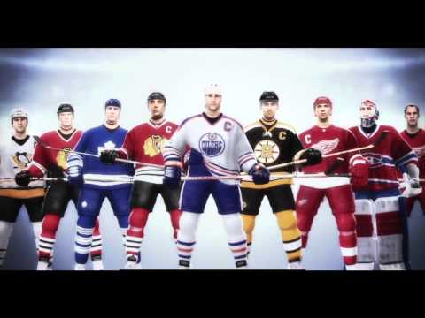 NHL 12 Legends Ft Mario Lemieux, Wayne Gretzky and Patrick Roy