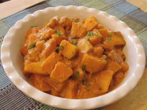 Red Curry Butternut Squash Recipe - Red Curry Squash